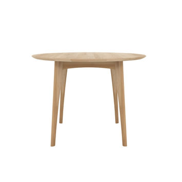 Ethnicraft Osso Round Dining Table-High