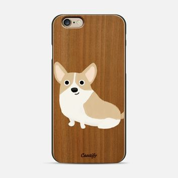 Corgi Dog (Clear) iPhone 6 case by Cassandra Gibbons | Casetify
