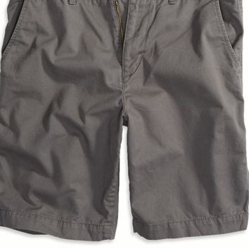 "AEO Men's Factory 10"" Classic Short (Grey Road)"