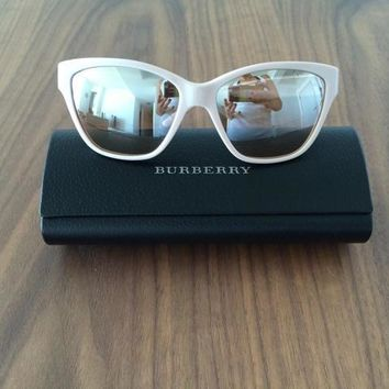 Burberry Mirrored Sunglasses