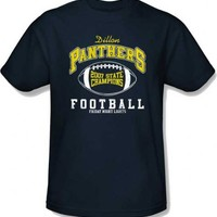 Friday Night Lights Dillon Panthers 2007 State Champions Adult Navy T-Shirt