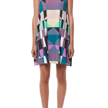 mara hoffman sleeveless ponte swing dress