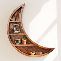 Crescent Moon Wall Shelf | Urban Outfitters