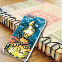 Wonder Woman Super Heroes iPhone 6 Plus Case