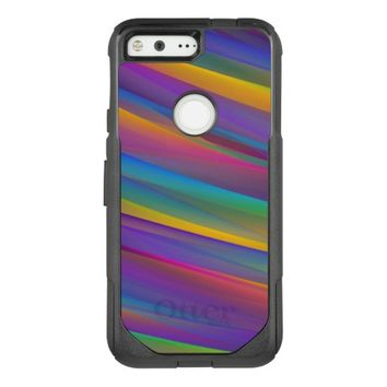 Colorful Abstract Design OtterBox Commuter Google Pixel Case