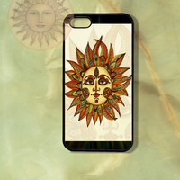 Sun - iPhone 5 , 5s, 5c,4s, 4 case,Ipod touch 5, Samsung GS3, GS4 case-Silicone Rubber / Hard Plastic Case, Phone cover