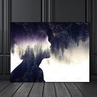 Wall Picture canvas painting Wall art pictures no frame decor poster art prints figure on canvas  decoration for living room