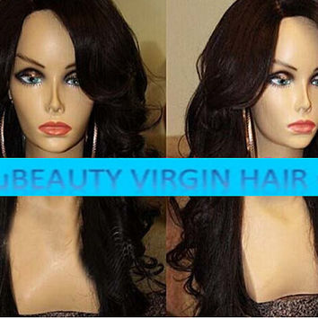Human Hair Glueless Full or Front Lace Human Hair Wig