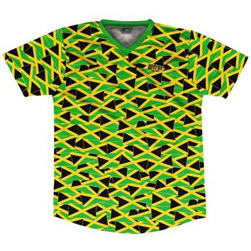 Ultras Jamaica Party Flags Soccer Jersey