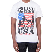 Merch Traffic 2 Live Crew Short Sleeve Tee (White) - 10200004-WHT | Jimmy Jazz