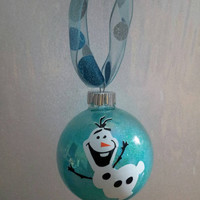 Personalized Frozen Olaf Ornament