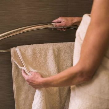 Towel Bar & Grab Bar in One