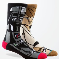 Stance - Disney Star Wars Force Crew Socks - Mens Socks - Black - One