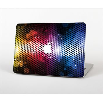 The Neon Glowing Grill Mesh Skin Set for the Apple MacBook Air 11""