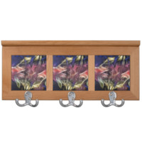 Abstract of a Cold Sunset Coat Rack