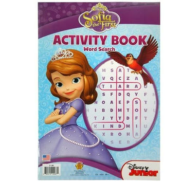 Disney Princess Sofia the First Giant Activity and Coloring Book