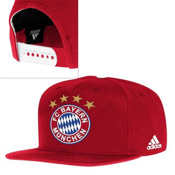 adidas fc bayern munich snapback cap from kohl 39 s soccer. Black Bedroom Furniture Sets. Home Design Ideas
