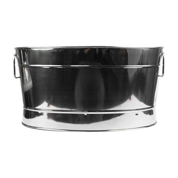 Co-Rect IT5033 Oval Beverage Tub Stainless Steel