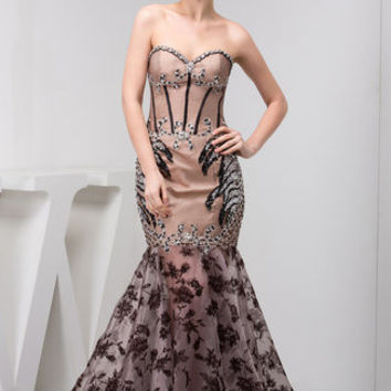 'Quaint Mistress' semi-formal gown
