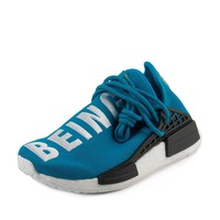 Adidas Mens PW Human Race NMD Blue/White Nylon