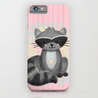 Cute Little Raccoon iPhone & iPod Case by Noonday Design | Society6