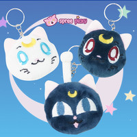 [Sailor Moon] Luna/Artemis/Luna P Key Chain Pendant SP152640