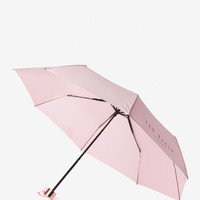 Plain compact umbrella - Dusky Pink | Gifts for Her | Ted Baker