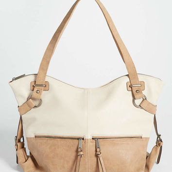 two tone satchel | maurices