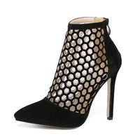 Sierra Cutout Ankle Boots