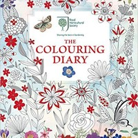RHS Colouring Diary Paperback – 16 Jun 2016