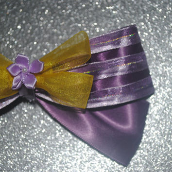 Rapunzel inspired bow!