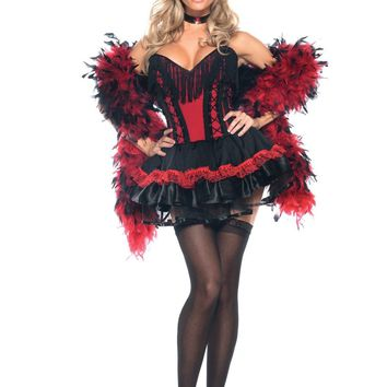 Two Piece Speak Easy Saloon Girl Costume