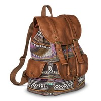 Mossimo Supply Co. Geometric Print Backpack Handbag - Multicolored