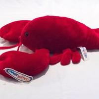 Lobbie the Lobster Mary Meyer Soft Plush NWT 15 Inches Sea Life Ocean Creature