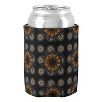Night Sunflower Can Cooler