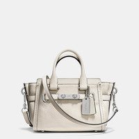 COACH SWAGGER 20 CARRYALL IN PEBBLE LEATHER