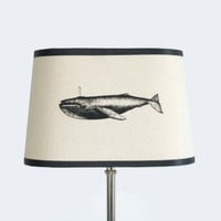 Oval Clip On Whale Shade