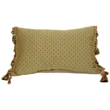 Canaan Company P-405-S 14x22 Aberdeen Accent Pillow with Tassel Trim (Clearance Priced)