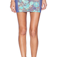 Maaji Hall of Fame Mini Skirt in Blue