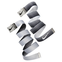 Nike Speed Stripe Reversible Web Golf Belt Size ONE SIZE (Black)