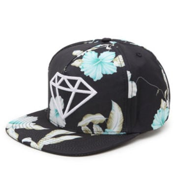 Diamond Supply Co DMND Rock Floral Snapback Hat at PacSun.com