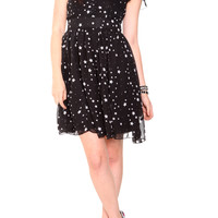 Hell Bunny Black Star Dress