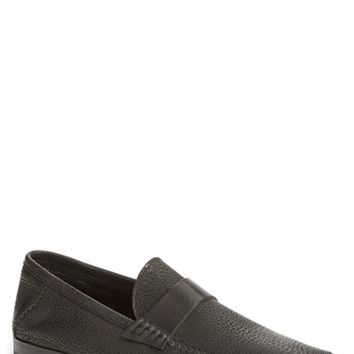 Men's Santoni 'Paine' Leather Loafer
