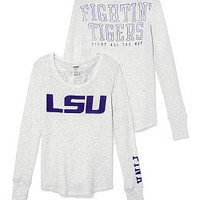LSU Long-sleeve Thermal Tee - PINK - Victoria's Secret
