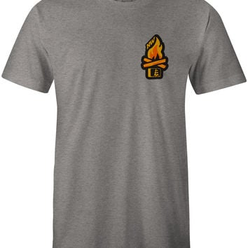 Campfire T-Shirt Dark Grey Heather