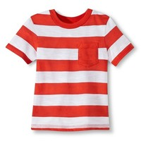 Toddler Boys' Striped Tee