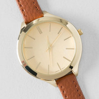 Oxford Tan Watch