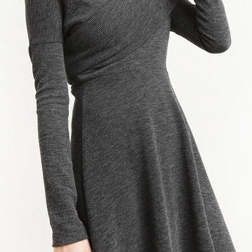 Cupshe Sexy But Warm Off Shoulder Dress