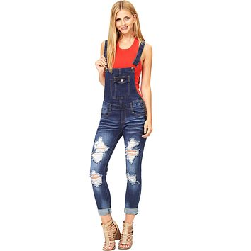 Drift Denim Overalls