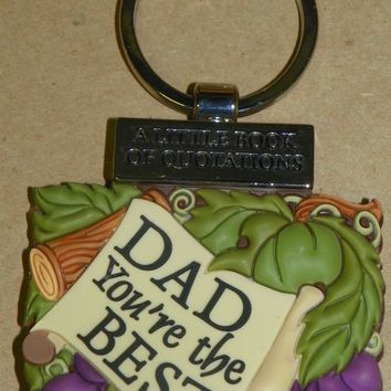 Keyring Little Book of Quotations-Dad